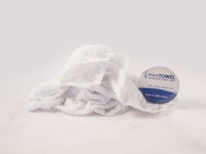Minitowel kleine handdoek